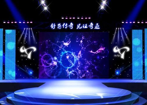 舞台LED大屏幕租赁案例