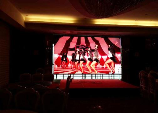 p4室内LED全彩显示屏案例