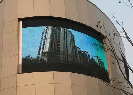 荆州火车站P10LED全彩显示屏案例