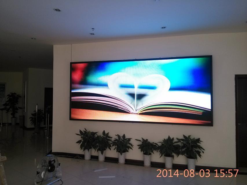 湖南长沙室内P2.5LED全彩显示屏案例