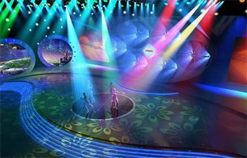 透明LED显示屏在舞台舞美呈现