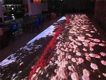 LED互动地砖屏的应用以及技术原理