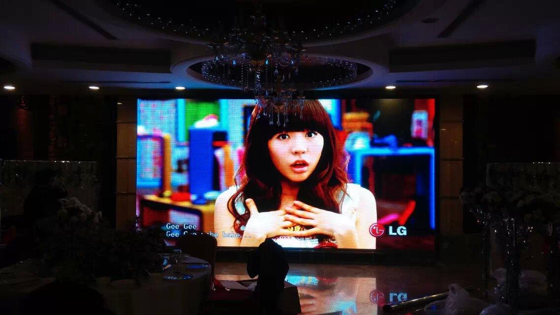 室内p4租赁显示屏