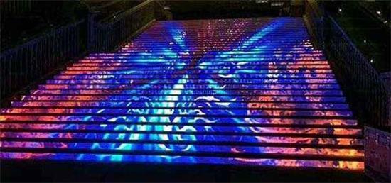 LED台阶地砖屏