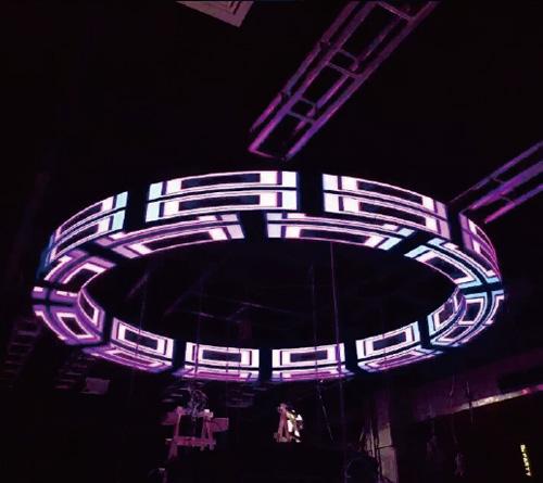 LED环形屏