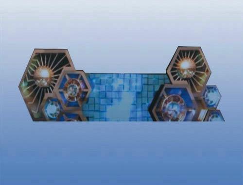 六边形LED DJ屏