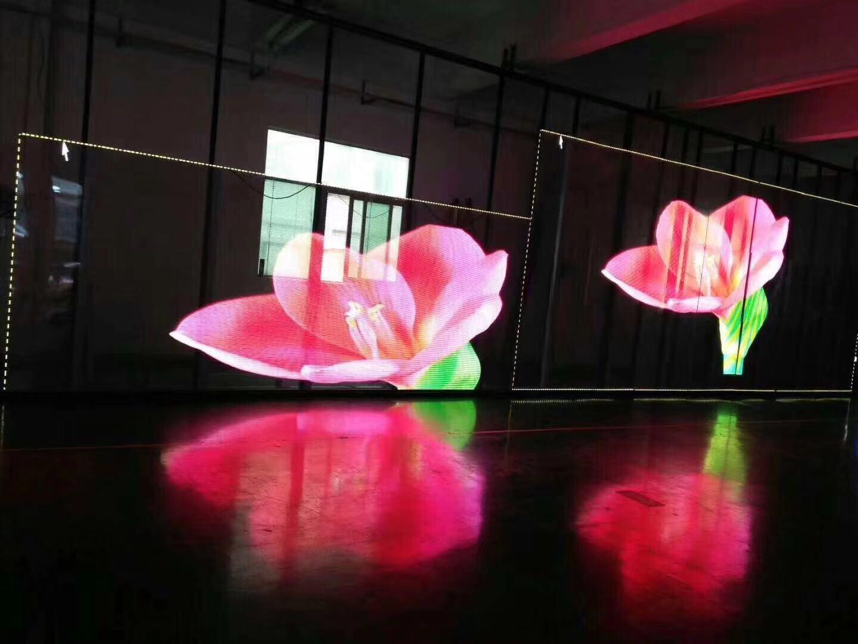 超高亮LED透明广告屏 ph3.91-7.81